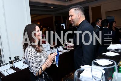 Jill Medawar, Adam Woitkowski. Photo by Tony Powell. ICON 14 Dinner and Talent Showcase. Ritz Carlton. November 17, 2014