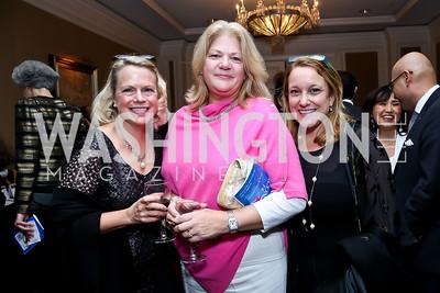 Karen Beardsley, Liz Hendon, Andrea Dettelbach. Photo by Tony Powell. ICON 14 Dinner and Talent Showcase. Ritz Carlton. November 17, 2014