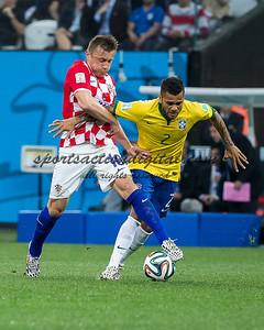Ivica Olic, Dani Alves