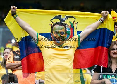 Belo Horizonte, Brazil.  Tuesday, July 8, 2014.  Brazil vs Germany in a semi final match.