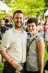 Nick Jessee, Shelley Jessee, Brew at the Zoo, at the National Zoo, Thursday, July 17, 2014, Photo by Ben Droz