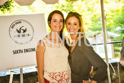 Kelly Sanville, Jane Roda,  Brew at the Zoo, at the National Zoo, Thursday, July 17, 2014, Photo by Ben Droz