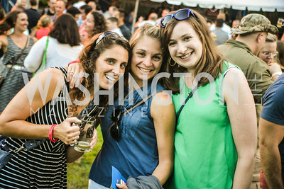 Lindsey Walters, Chelsea Slee, Amanda Schmid, Brew at the Zoo, at the National Zoo, Thursday, July 17, 2014, Photo by Ben Droz