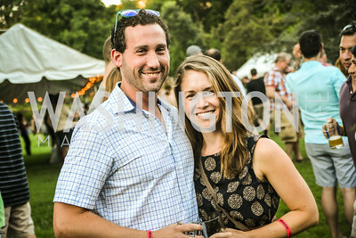 Josh Storm, Bridgette Behling, Brew at the Zoo, at the National Zoo, Thursday, July 17, 2014, Photo by Ben Droz