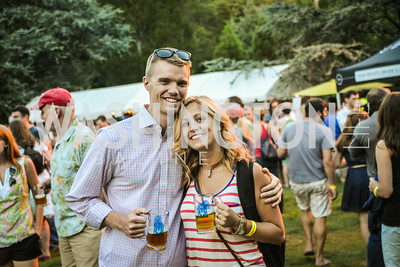 David Lee, Taylor Davis,  Brew at the Zoo, at the National Zoo, Thursday, July 17, 2014, Photo by Ben Droz