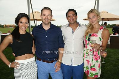 Jen Auerbach, Simon Davey, Mihir Patel, and Kristie Patel  photo by Rob Rich/SocietyAllure.com © 2014 robwayne1@aol.com 516-676-3939