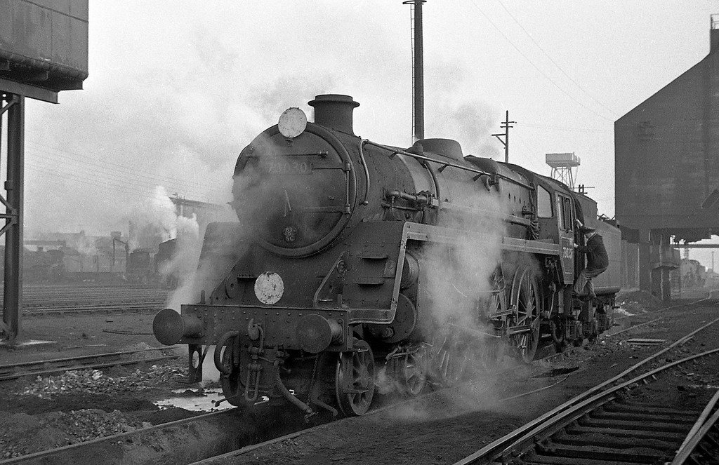 73030, Exmouth Junction Shed, Exeter, December, 1963.