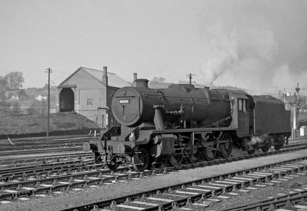 48424, down light, Exeter St David's, December 21, 1963.