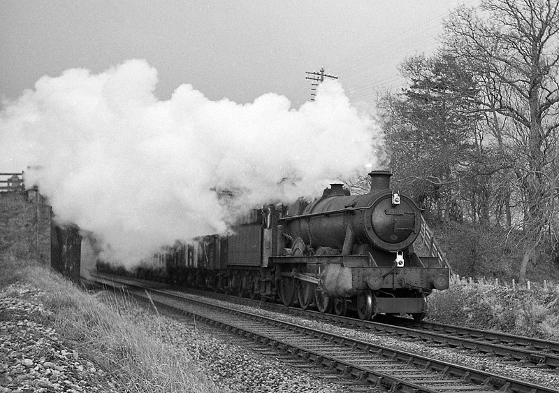 7900, Saint Peter's Hall, down coal, Willand, near Tiverton, December 23, 1963.