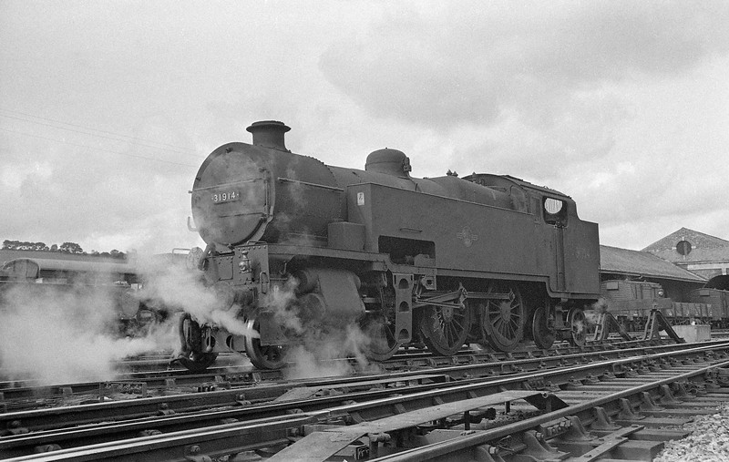 31914, duty banker, Exeter St David's banker spur, autumn 1963.