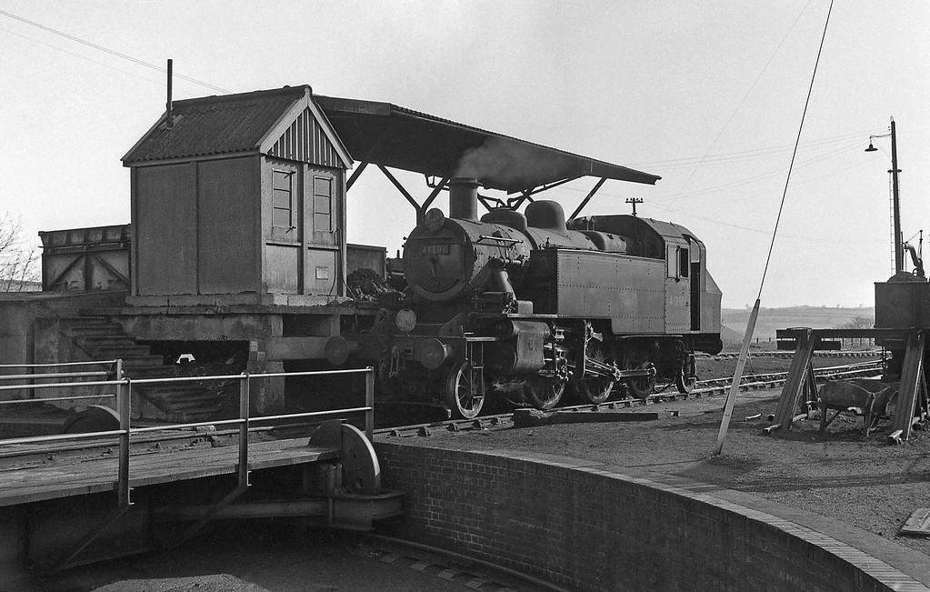 41291, Okehampton Shed, April 7, 1964.