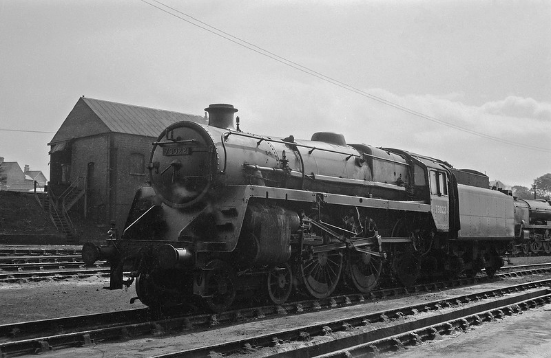 73022, Weymouth Shed, April 14, 1964.