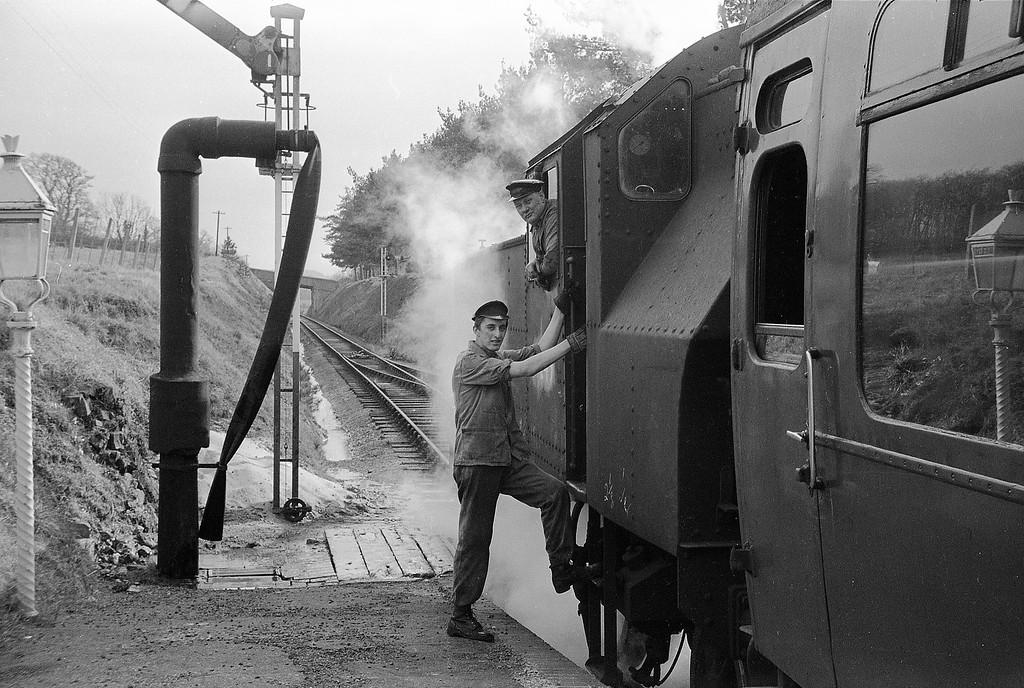 41249, Torrington-Halwill Junction, Petrockstow, April 7, 1964.