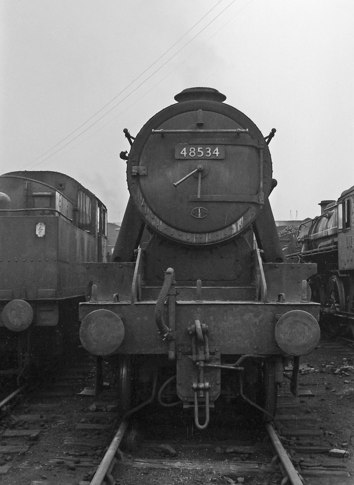 48534, Speke Junction Shed, Liverpool, August 16, 1964.