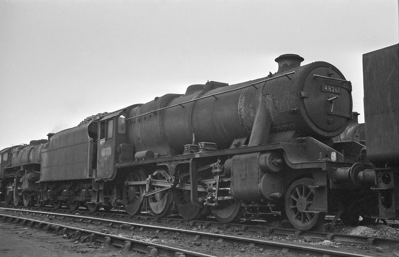 48261, Speke Junction Shed, Liverpool, August 16, 1964.