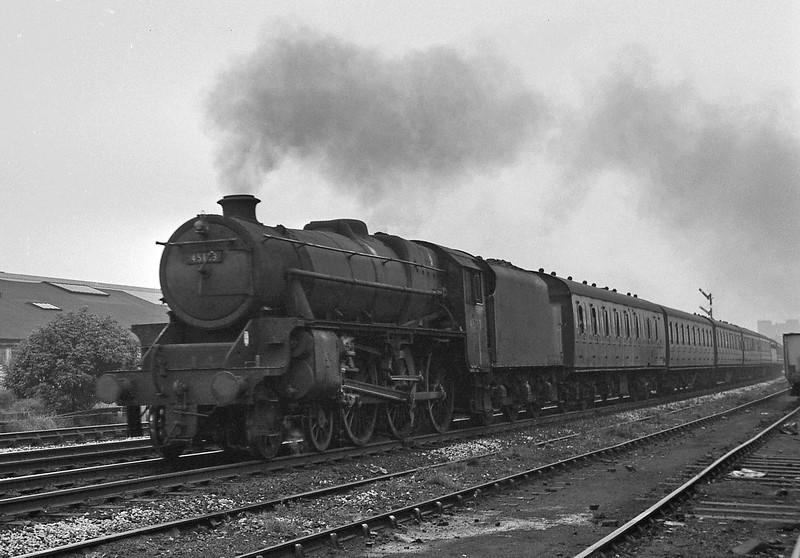 45193, westbound passenger, Bolton, August 15, 1964.