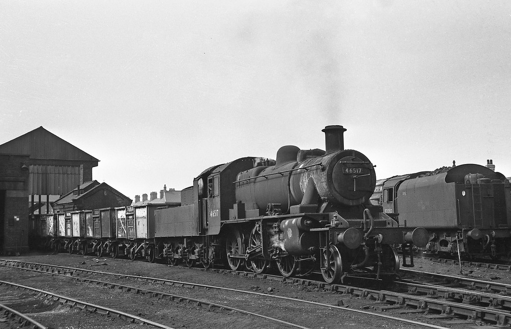 46517, Northwich Shed, August 14, 1964.