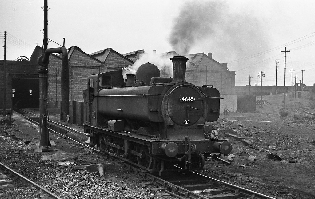 4645, Croes Newydd Shed, Wrexham, August 14, 1965.