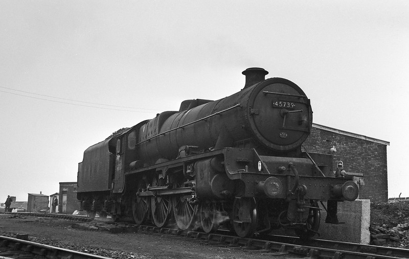 45739 Ulster, Rose Grove Shed, Burnley, August 15, 1964.,
