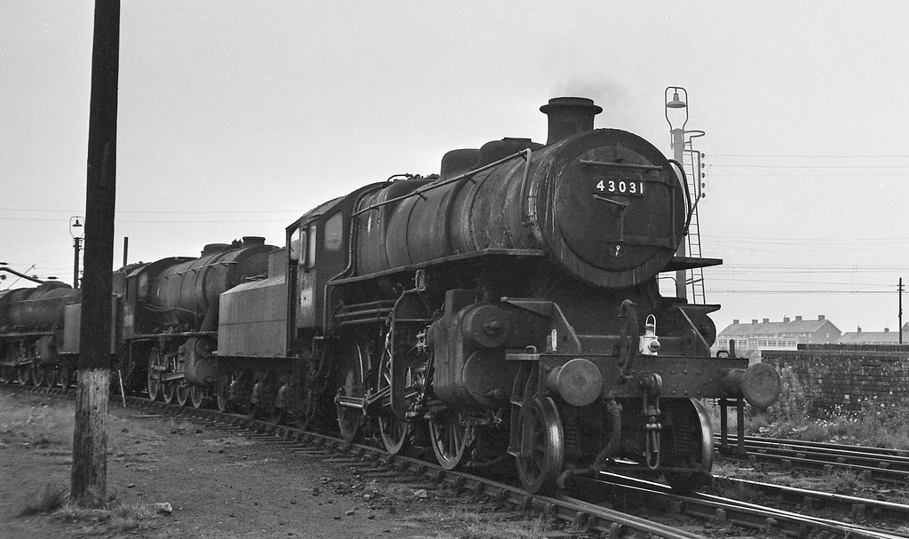 43031, Speke Junction Shed, Liverpool, August 16, 1964.