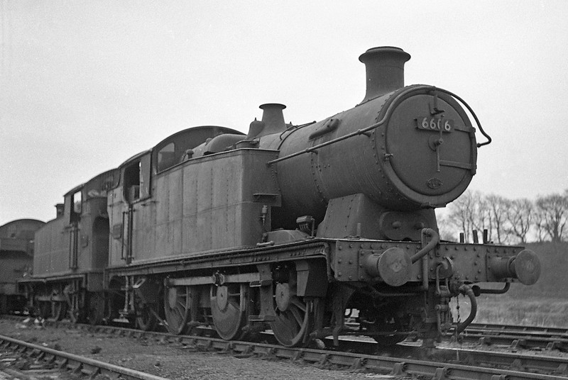 6606, Radyr Shed, January 1, 1964.
