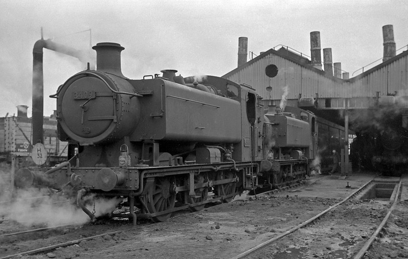 3409, Radyr Shed. January 1, 1964