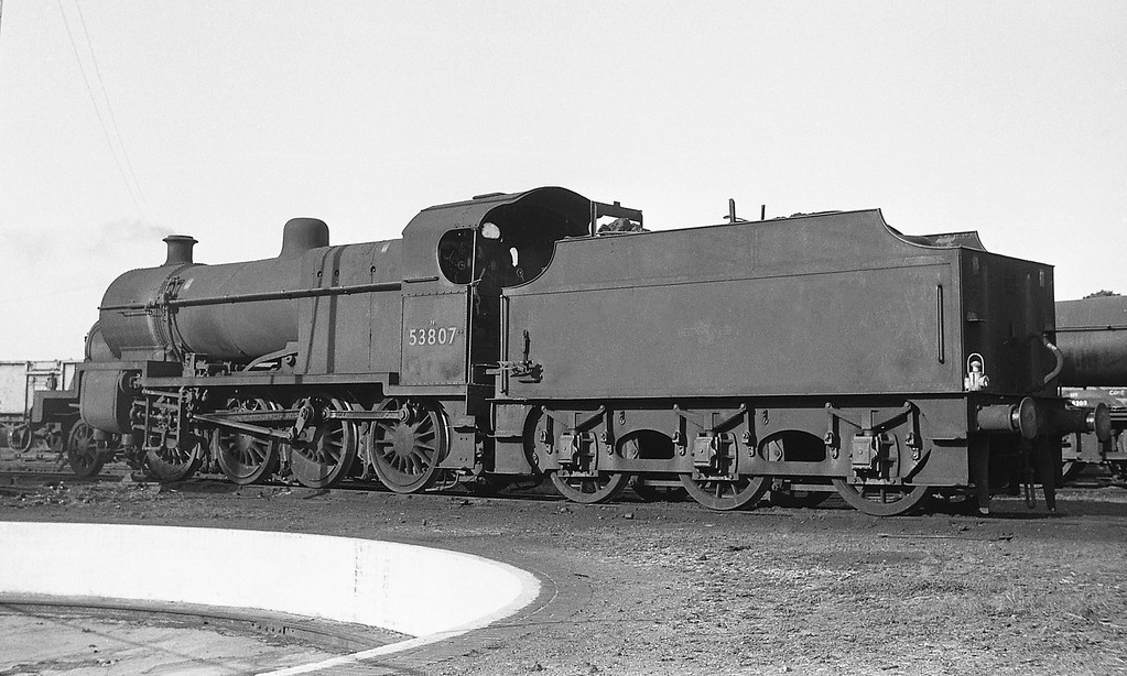 53807, Templecombe Shed, September 1, 1964.