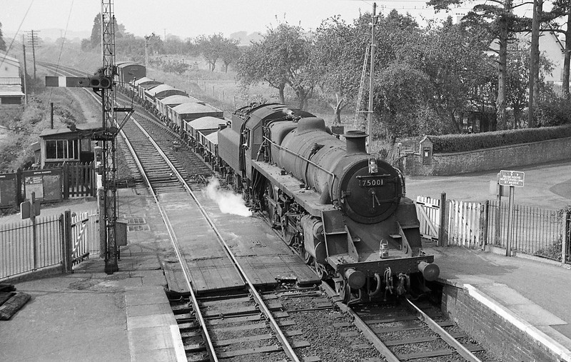 75001, up departmental, Sidmouth Junction, September 5, 1964.