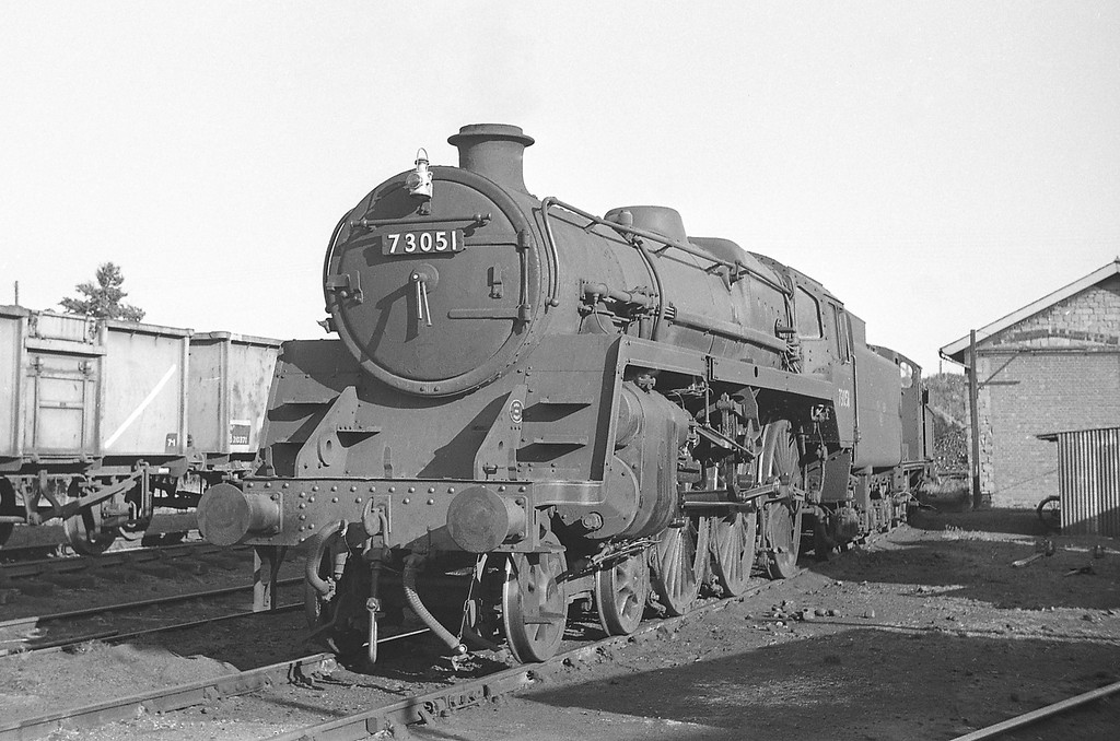 73051, Templecombe Shed, September 1, 1964.