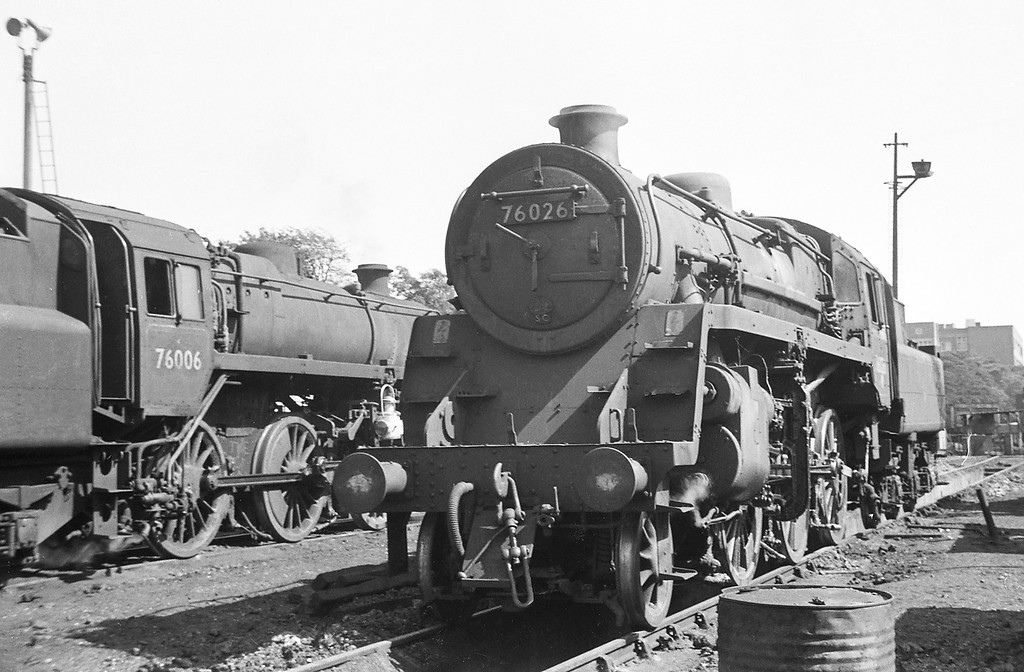 76026, Bournemouth Shed, September 1, 1964.