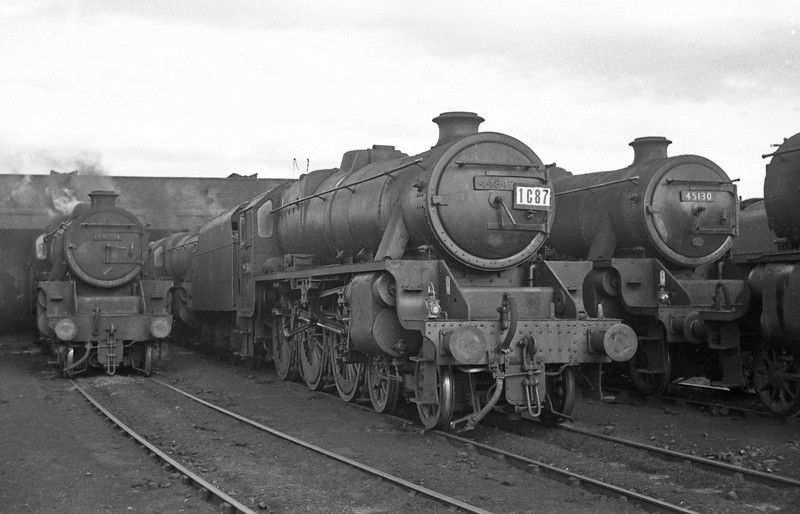 44842 and 45130, Chester Shed, August 1, 1965.