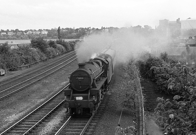 45052, up passenger, Chester, August 6, 1965.