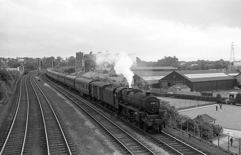 45300, up passenger, Chester, August 6, 1965.