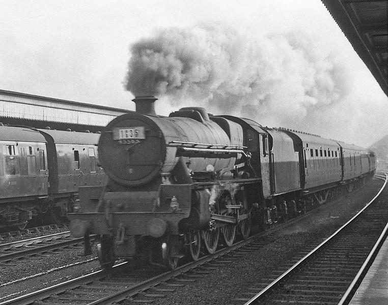 45563, up passenger, Rhyl, August 5, 1964.