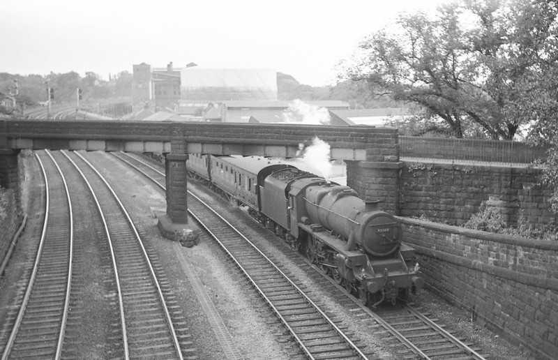 45369, up passenger, Chester, August 2, 1965.