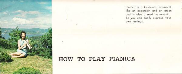 Tokai Gakki Pianica 32 brochure