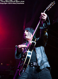BulletBoys perform at the Casino Ballroom on July 25, 2014 in Hampton Beach, NH