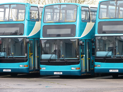 Arriva North West LJ51ORG 131215 Blackburn