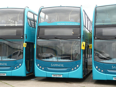 Arriva the Shires 5453 130630 Blackburn