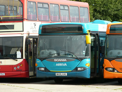 Arriva North East 4653 140817 Blackburn