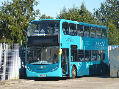 Arriva the Shires 5435 130908 Blackburn