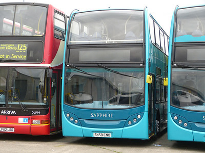 Arriva the Shires 5452 130630 Blackburn
