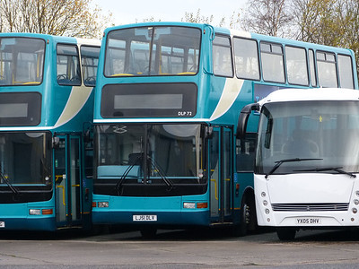 Arriva North West LJ51DLV 131215 Blackburn