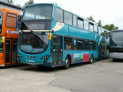 Arriva North East 7612 140713 Blackburn