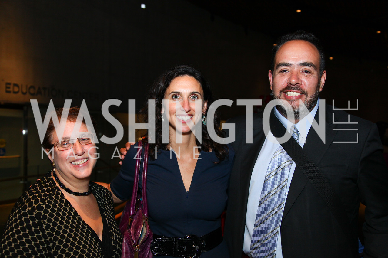 Marilyn Sneiderman, Anna Lefer Kuhn, Paco Fabian