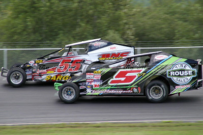 Canaan Fair Speedway-Subway Fresh Fit 150/Northern Modified Challenge