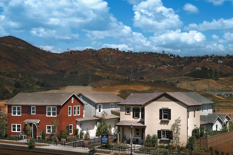 Andalucia Models at Harmony Grove, Escondido, CA, 6/30/15.