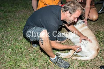 Caroline-Dorchester County Fair - Northwestern Autograph Signing - August 8-2014