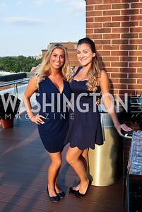 Elle Silberberg, Simge Yildirim,. Photo by Tony Powell. Celebrating Summer with Gio Gonzalez. The Graham Rooftop. September 4, 2014