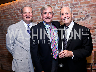 David Deckelbaum, Robert Higdon, Bob Heggestad. Photo by Tony Powell. Celebrating Summer. Eno Wine Bar. June 18, 2014
